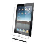 Kensington Standard Pack #1 for Apple iPad 2 / 3 (Screen Protector & Pen)
