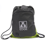 M-Edge Tech Sackpack with 4000 mAh Battery in Gray