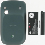 HTC Extended Battery and Door for HTC Touch M-6900 -Black