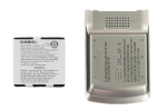 OEM PCD Casio C721 Exilim Extended Battery and Door - 1540 mAh