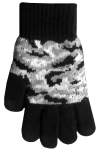 Boss Tech Touchscreen Gloves, Texing Gloves, Tech Gloves (Black Camo)