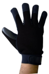 Boss Tech Mechanic's Style Touch Screen Gloves, Texting Gloves for All Touch Screen Devices (Black)