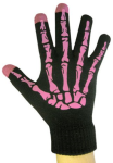 Boss Tech - Knit Touchscreen Gloves, Texting Gloves, Tech Gloves - Black/Pink