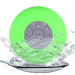 Shower Speaker | Water Resistant | Bluetooth 3.0 | Hands Free | Color: Green
