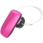 Quikcell Color Burst Mini Bluetooth Headset (Pink) - C-BT245-PNK