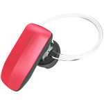Quikcell Color Burst Mini Bluetooth Headset (Red) - C-BT245-RED
