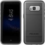 Pelican Protector Case for Samsung Galaxy S8 - Black / Light Grey