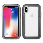 Pelican Products Voyager Apple iPhone X in Clear/Gray