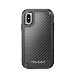 Pelican Shield Case for Apple Iphone X (Black and Black)
