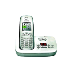 Siemens Gigaset DECT 6.0 Single Handset Cordless phone - (White) - C595W