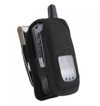 WirelessXGroup Industrial Strength Canvas Case for Motorola i576 (Black)