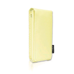 CellAllure Vertical Open Up Pouch for Apple iPhone 3G - Beige