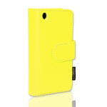 CellAllure Vertical Side Open Pouch for Apple iPhone3G/3GS - Yellow