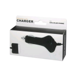 Reiko - Car Charger O6 for Apple iPhone 3G - Black
