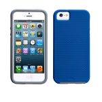 Case-Mate Tough Case for Apple iPhone 5s/5 (Marine Blue/Titanium Grey) - CM022472