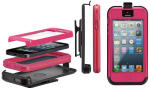Case-Mate Tough Xtreme Case with Holster for Apple iPhone 5 (Pink)
