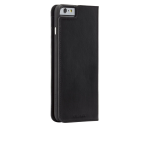 Case-Mate Leather Wallet Folio Case for Apple iPhone 6/6S - Black