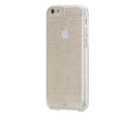 Case-Mate Sheer Glam Case for Apple iPhone 6/6s - Champagne with Clear Bumper