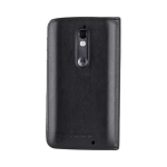 Case-Mate Wallet Folio Case for Motorola Droid Turbo 2 (Black Leather)