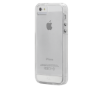 Case-Mate Naked Tough Case for Apple iPhone 5/5s/SE - Clear with Clear Bumper