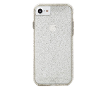 Case-Mate Sheer Glam Glitter-coated Case for iPhone 7, 6/6s - Clear/Champagne