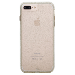 Case-Mate Sheer Glam Case for iPhone 7 Plus, 6s Plus, 6 Plus - Clear/Champagne