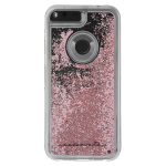 Case-Mate Waterfall Case for Google Pixel - Rose Gold Glitter