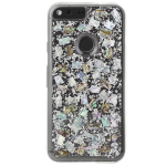 Case-Mate Karat Pearl Case for Google Pixel - Mother of Pearl / Sterling Silver Elements