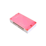 Impecca CRB60 All-in-1 Multi Card Reader -  (Pink) - CRB60P