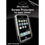 BODY GLOVE WriteRight screen protectorsfor the iPhone.