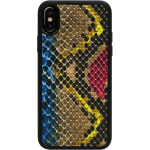 Candywirez Snake Vegan Leather Apple iPhone X Blue/Grey