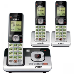 VTech 3 Handset Cordless Answering System with Caller-ID and Call-Waiting CS6629-3