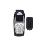 Nokia Original Leather Case for Nokia 6610 - Black