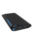 Cygnett ChargeUp Digital 10,000mAh Portable PowerBank - Black/Blue