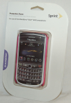 Sprint Protective Cover for BlackBerry Bold 9650 - DARK PINK