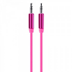 Overtime by Delton 6FT Audio Cable 3.5MM - Pink