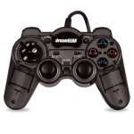 DreamGEAR PS3 Wired Turbo Controller - Smoke Black