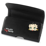 Reiko - Design Horizontal Pouch for DHP102A IPHONE4 PLUS B14 - Black