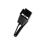 Speco Technologies - PTT Handheld Microphone, Coiled Cable