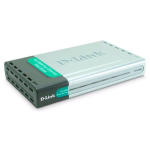 D-Link DP-300U 10/100TX 1-USB Port 2-Parallel Port Print Server