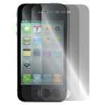 Decoro Anti-Glare Screen Protectors for Apple iPhone 4/4S (3 Pack)