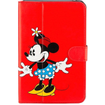Disney Minnie Mouse Folio Case for Ellipsis 8 - Red