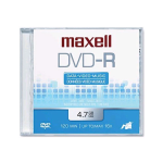 Maxell DVD-R 4.7GB 120-Minute Up To 16x (5-Pack)