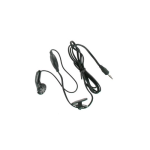 Brightstar - Universal 2.5mm Hands Free Earbud Headset - Black