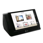OEM LG Media Charging Dock for LG Lucid 2 VS870 (Black) - EAY63048601-Z