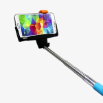 iPlanet Bluetooth Selfie Stick For Android and Apple iOS - Blue