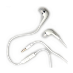 OEM Samsung 3.5mm Stereo Headset with Volume Control (White)