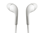 Original Samsung HS330 headset, 3.5mm stereo devices, w/ Inline Mic - White
