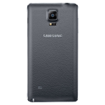 Samsung Galaxy Note 4 Wireless Charging Battery Cover - Charcoal Black