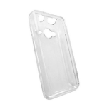 Sprint Premium Hard Snap-On Cover Case for HTC Evo Shift 4G (Clear)